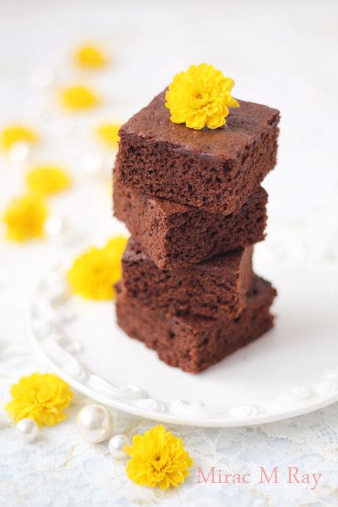 【レシピ】チョコレートブラウニー 濃厚しっとりふんわり柔らかくややねっとりで穏やかな甘さのケーキver.