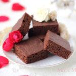 【レシピ】チョコレートブラウニー 甘さ控えめほろっと軽いケーキ食感はちみつ入りver.