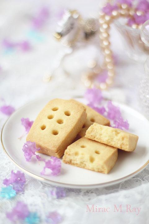 【レシピ】塩気あるバターの濃厚な香り。ショートブレッド