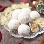 【レシピ】芳醇にアーモンド香るスノーボールクッキー